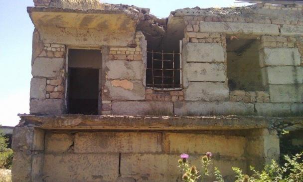 Зруйнований вокзал Шіндісі
