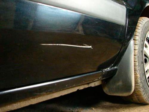 Как убрать царапину на авто самостоятельно